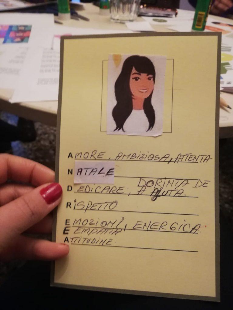 carta d'identità emozionale
